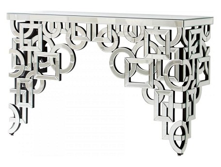 Clear Volos Console Table