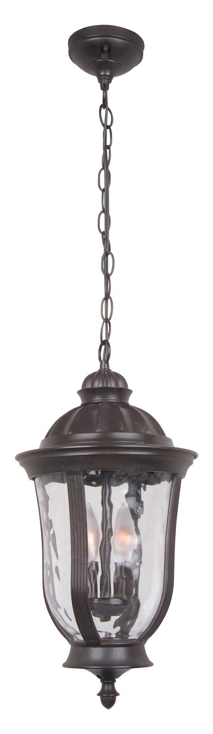 Craftmade Two Light Bronze Hanging Lantern - Z6011-92