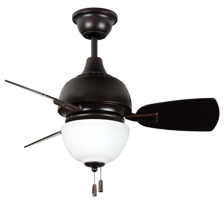 Craftmade Oiled Bronze Gilded Ceiling Fan - DA30OBG3