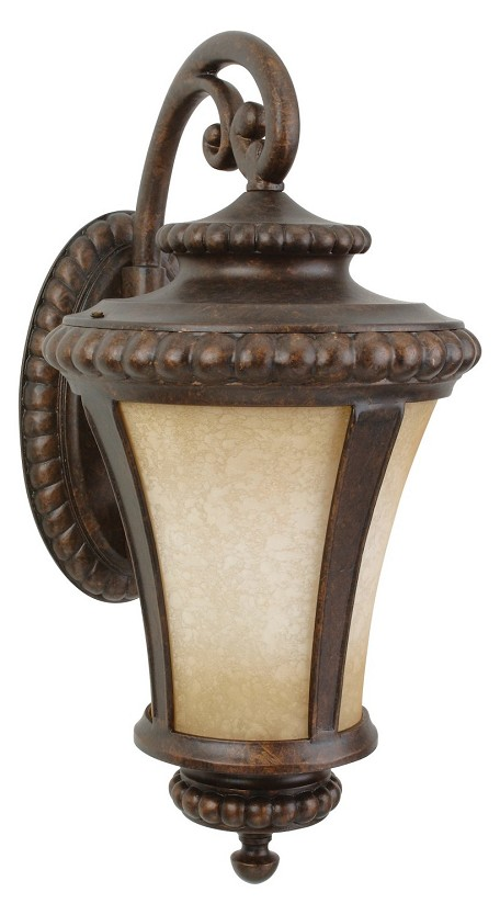 Craftmade Three Light Bronze Wall Lantern - Z1234-112