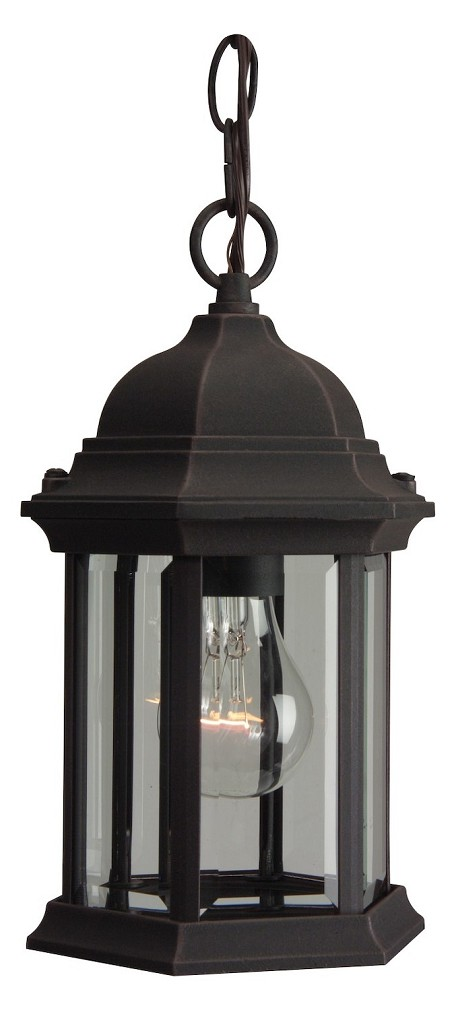 Craftmade One Light Black Hanging Lantern - Z291-07