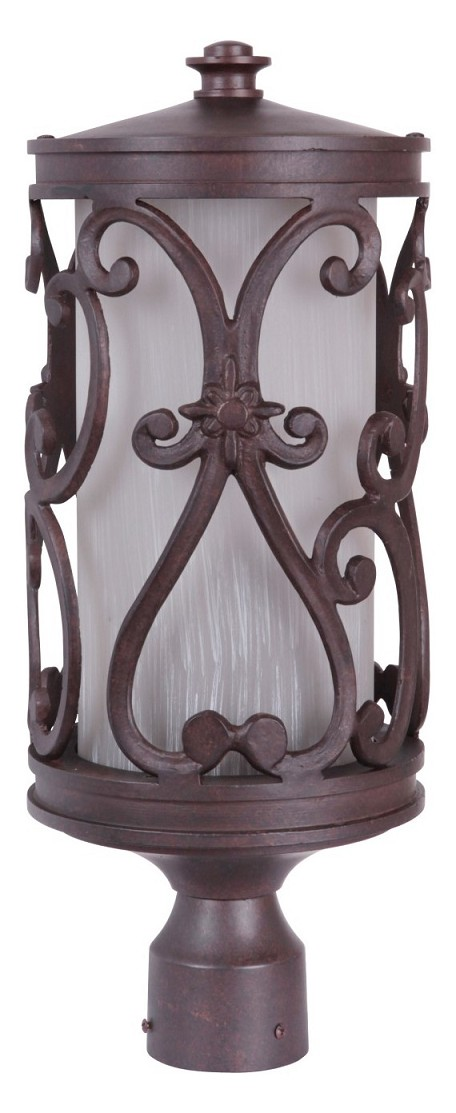 Craftmade Aged Bronze Post Light - Z5325-98