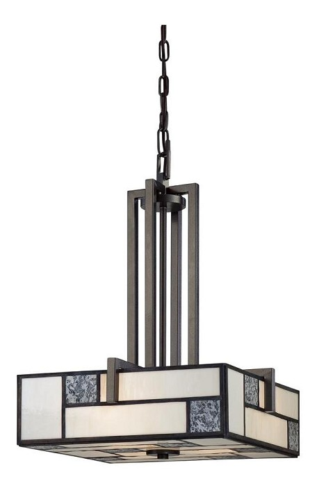 Charcoal  3 Light Foyer Pendant from the Bradley Collection