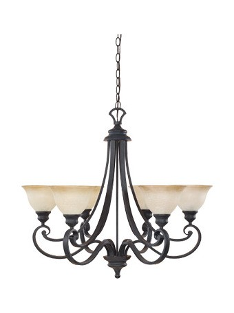 Barcelona Collection 6 Light Chandelier 96186-NI
