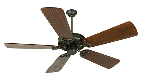 Craftmade Fb - Flat Black Ceiling Fan - K10959