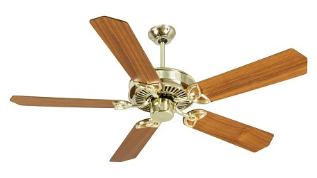 Craftmade Pb - Polished Brass Ceiling Fan - K10974