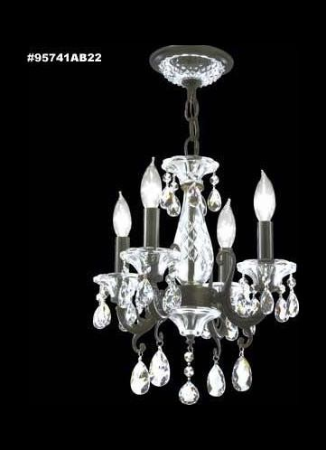 James R Moder Mini Chandelier - 95741AB11