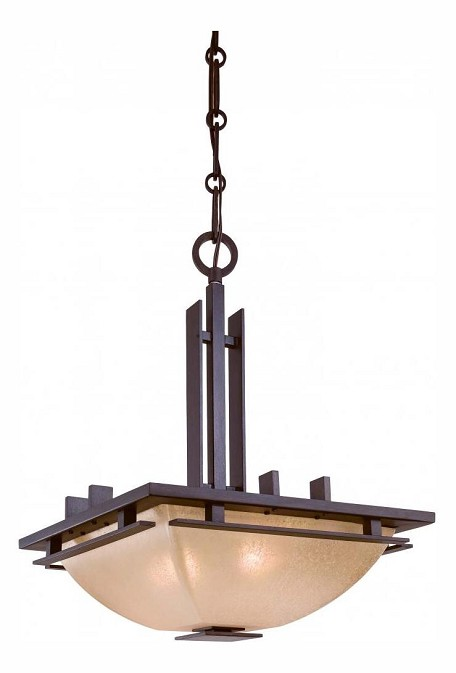 Iron Oxide 2 Light Indoor Full Sized Pendant From The Lineage Collection