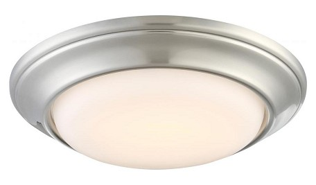 Brushed Nickel Recessed Trim Ceiling Fixture From The Nouveau Collection