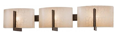 Patina Iron 3 Light Bathroom Vanity Light From The ClartãƒÂ© Collection