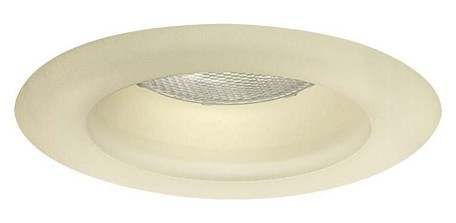 White Glass Decorative Glass Recessed Lighting Trim For 6In. Recessed Can From The Effetre Collection