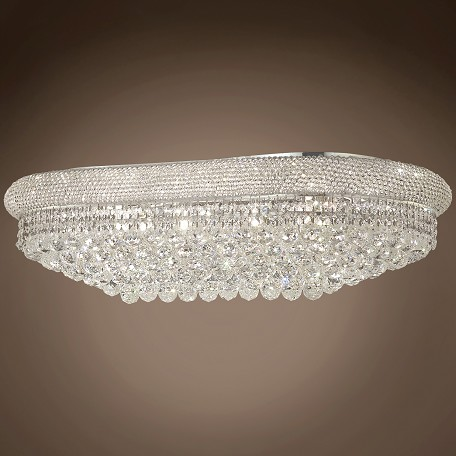 "Bagel Design 18 Light 36"" Flush Mount"