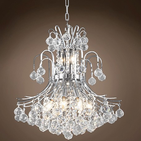 "Contour Design 10 Light 19"" Chandelier"