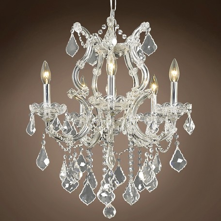 "Maria Theresa 6 Light 20"" Chandelier"