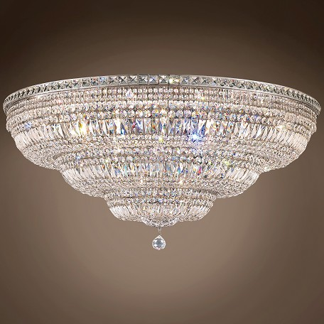 "Invisible Design 33 Light 48"" Flush Mount"