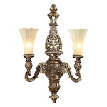 Allesandria Led Two Light Wall Sconce - 133398