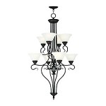Bronze Coronado 8 Light 2 Tier Chandelier