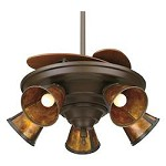 Five Light Bronze Ceiling Fan - Fanimation FP825OB
