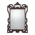Rectangle Mirror in Bronze Finish - Savoy House 4-F05086-231
