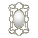 Oval Mirror in Silver Finish - Savoy House 4-BLSFOV05048