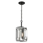 Garrett 1 Light Pendant In Oil Rubbed Bronze - 287440