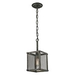 Perry 1 Light Pendant In Malted Rust - 287442