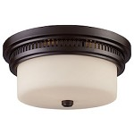 2 Light Flushmount In Oiled Bronze - 287448