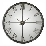 Amelie Large Bronze Wall Clock - 297692