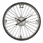 Uttermost Spokes Aged Wall Clock - 297697