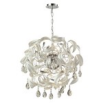 Zebula 18 Light Chandelier In White - 334247