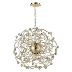 Zebula 16 Light Chandelier In Polished Gold - 334249