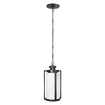 3 Light Pendant with Oiled Bronze Finish - 371952