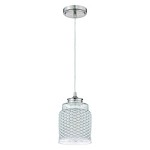 1 Light Mini Pendant in Brushed Polished Nickel - 372126