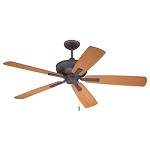 Ceiling Fan with Oiled Bronze Finish - 372236