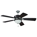 Ceiling Fan with Blades & Light Kit - 372261