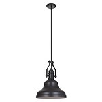 1 Light Mini Pendant with Metal Shade - 372277