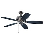 52 Ceiling Fan with Blades in Legacy Brass Finish - 372307
