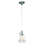 1 Light Mini Pendant with Wired Cage - 372330