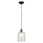 1 Light Mini Pendant with Glass Shade - 372340