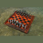 Chessboard And Pieces Games - 380039