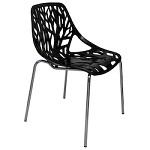 Black Fauna Dining Chair - 381223