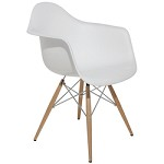 White Earnest Dining Chair - 381227