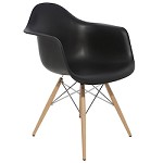 Black Earnest Dining Chair - 381228