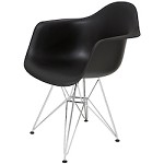 Black Armchair Ray Dining Chair - 381236