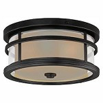 Cadiz 12in. Outdoor Flush Mount - Vaxcel International T0090