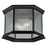 Kingston Aluminum 9in. Outdoor Flush Mount - Vaxcel International T0133