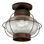 Chatham 13in. Outdoor Semi-Flush Mount - Vaxcel International T0145