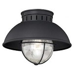 Harwich 10in. Outdoor Flush Mount - Vaxcel International T0142