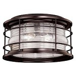 Hyannis 12-5/8in. Outdoor Flush Mount - Vaxcel International T0166