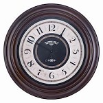 Pearce Clock - Wood - 393290